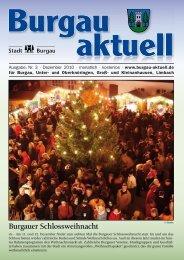 Burgau aktuell Dezember.indd - Stadt Burgau