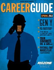 RigZone 2013 career Guide