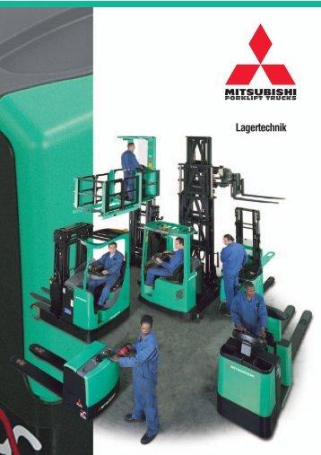 Niederhubwagen - Mitsubishi Forklift Trucks