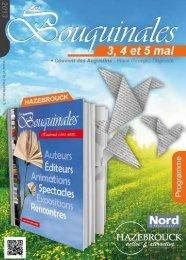 Programme des Bouquinales - Hazebrouck