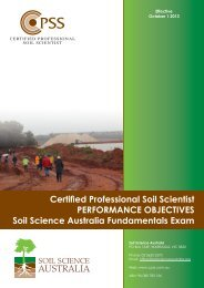 AUSTRALIA - Soil Science Society of America