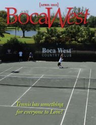 Tennis has something for everyone to Love! - Boca West Country Club