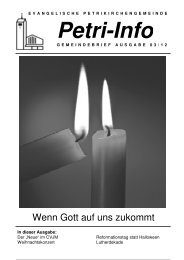 03-2012 - Petrikirchengemeinde Bielefeld