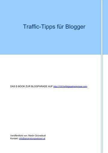 Traffic-Tipps für Blogger - WordPress – www.wordpress.com