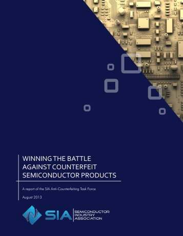 winning the battle against counterfeit semiconductor products