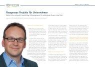 Passgenaue Projekte für Unternehmen - Verantwortung Zukunft