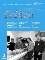 Ausgabe 2/2004 - TRIKON