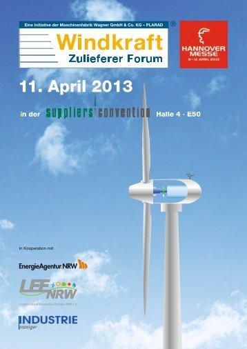 11. April 2013 - Windallianz.de