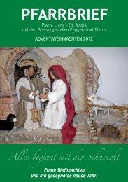 Advent/ Weihnachten 2012 - Pfarre Lienz St. Andrä