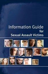 Information Guide for Sexual Assault Victims - Secrétariat à la ...
