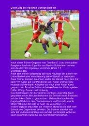 7.Spieltag vom 26.09.2012 - VEB Aue