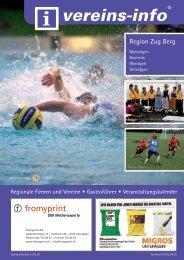 Region Zug Berg - Vereins-info