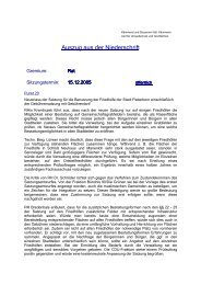 Protokollauszug Rat 15.12.2005 - Stadt Paderborn
