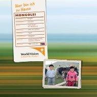 mongolei - World Vision