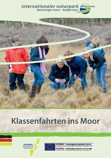 """können Sie unsere Broschüre """"Klassenfahrten ins Moor"""" - Naturpark ..."""