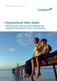 Organizational Value Added