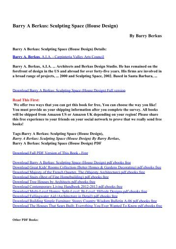 Download the body sculpting bible for chest and arms mens sculpting space house design pdf ebooks by barry berkus fandeluxe Images