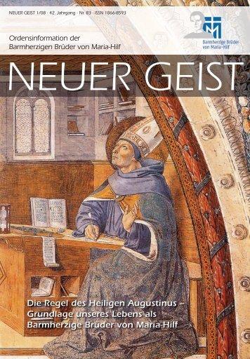 Die Regel des Heiligen Augustinus - Barmherzige Brüder Trier e. V.