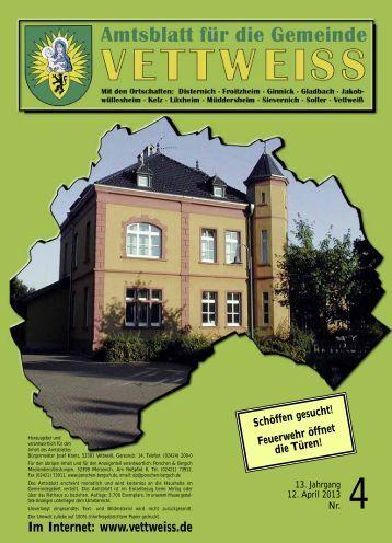 April 2013 - Gemeinde Vettweiß