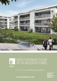 Dokumentation (PDF) - Weiherpark Hunzenschwil