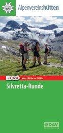 Flyer Silvretta-Runde - Deutscher Alpenverein Sektion Heidelberg