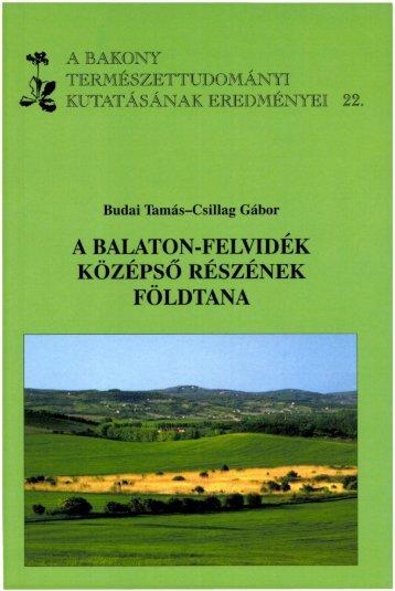 letölthető pdf - Bakonyi Természettudományi Múzeum
