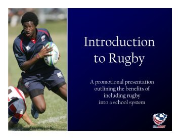 USA Rugby's Introduction to Rugby - Rugby NY