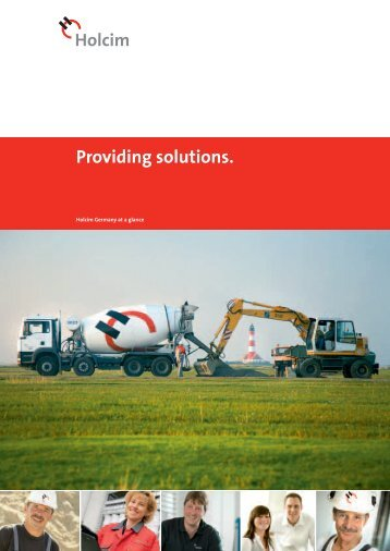 Providing solutions. - bei Geocycle in Deutschland!