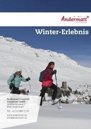 Wintererlebnisse in Andermatt