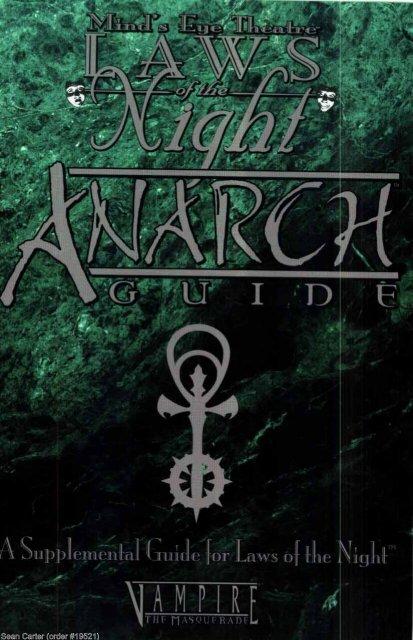 Anarch Guide pdf
