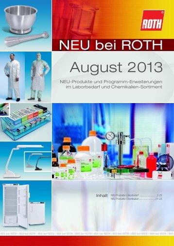 August 2013 - Carl Roth
