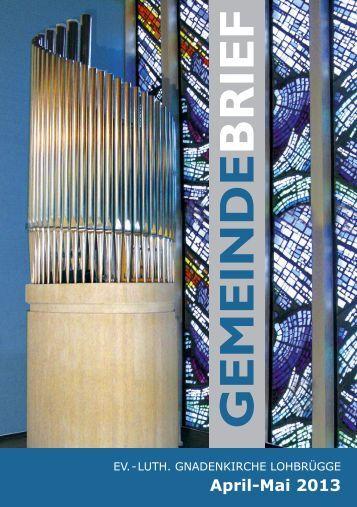 GEMEINDE BRIEF April-Mai 2013 - kigelo.de