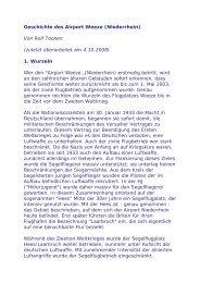 Geschichte des Airport Weeze - Royal Air Force Museum Laarbruch ...