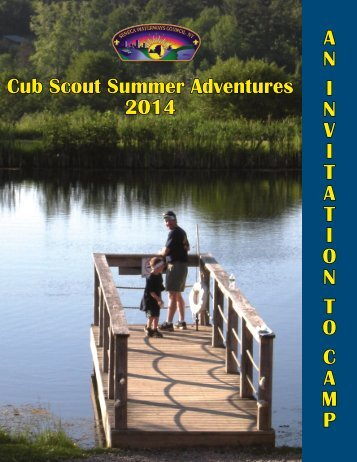 2014 Cub Scout Camping Brochure - Seneca Waterways Council