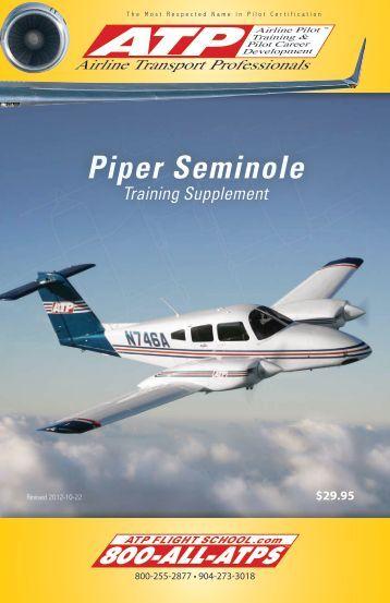 Piper seminole manual
