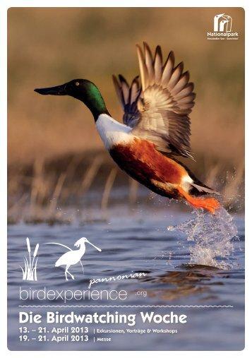 Die Birdwatching Woche - Nationalpark Neusiedler See Seewinkel