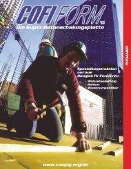 Die Super Betonschalungsplatte - Canadian Plywood Association