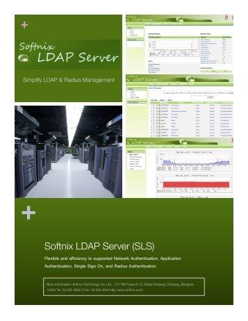 Softnix LDAP Server (SLS) - sms.softnix.co.th