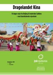 Dragelandet Kina - Jysk Rejsebureau