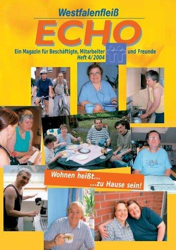 Ausgabe 12 - 04 / 2004 - Westfalenfleiß GmbH
