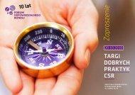 targi dobrych praktyk csr - CSR - Forum Odpowiedzialnego Biznesu