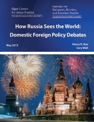 How Russia Sees the World - Rising Powers Initiative