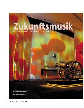 Zukunftsmusik - Huttinger Exhibition Engineering