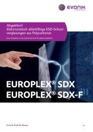 PDF (234.18 KB) - europlex® sdx - Evonik Industries AG