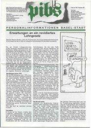 Erwartungen an ein revidiertes Lohngesetz - Regierungsrat - Basel ...