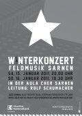 Mitteilungsblatt - Feldmusik Sarnen - Seite 3