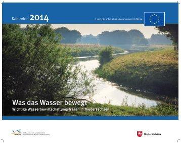 Was das Wasser bewegt - Niedersächsischer Landesbetrieb für ...