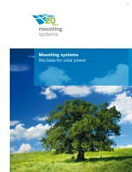 Mounting systems the base for solar power - Mounting Systems, Inc ...