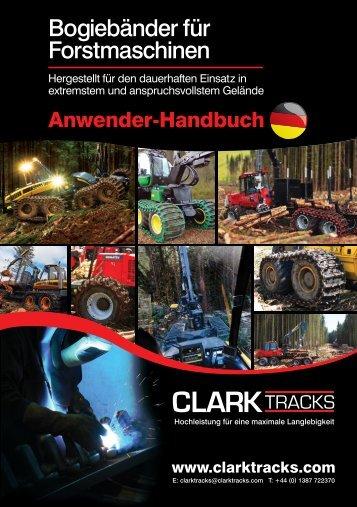 Bogiebänder für Forstmaschinen - Clark Tracks
