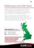 Bogiebänder für Forstmaschinen - Clark Tracks - Seite 3